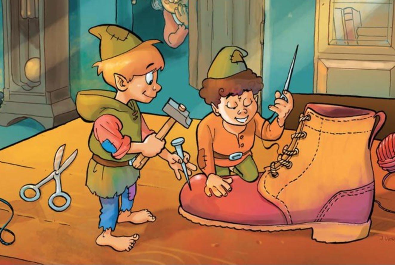 El zapatero y el gnomo