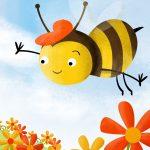 cuento la abeja feliz