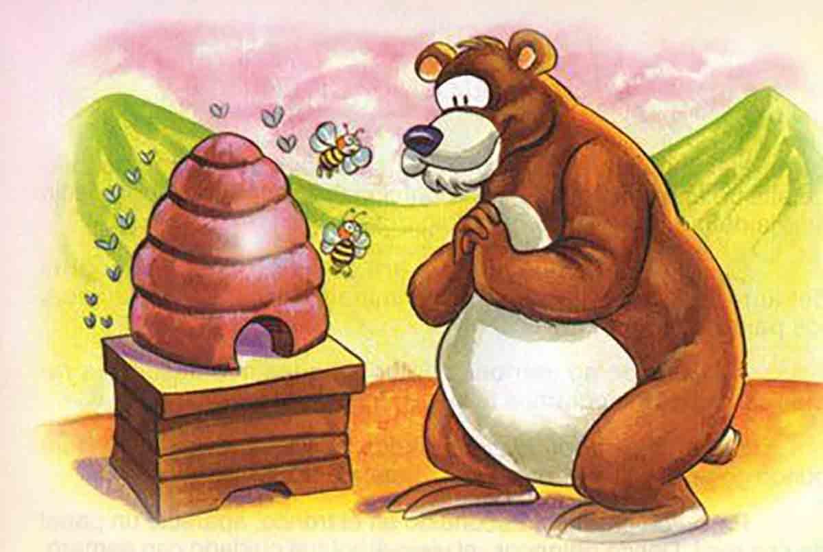 cuento el osito y la miel
