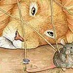 el leon y el raton audio fabula