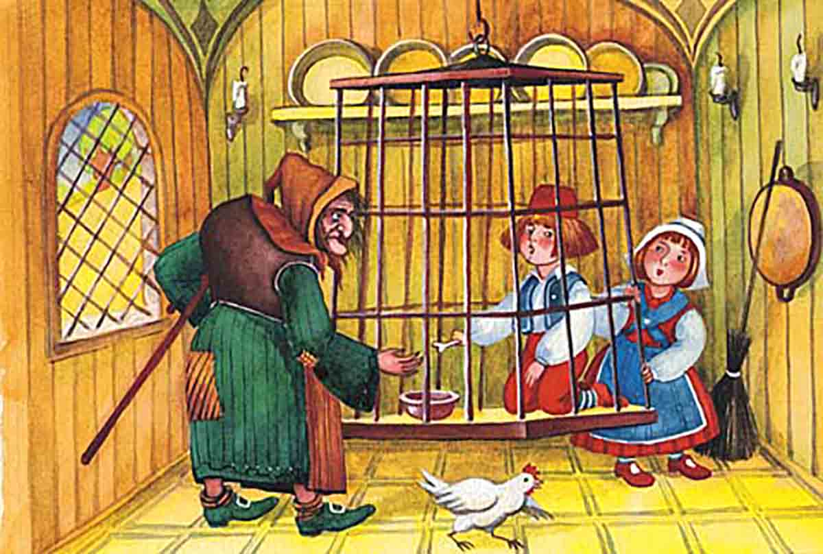 Hansel y Gretel audio cuento