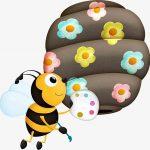 El nacimiento de la abeja maya