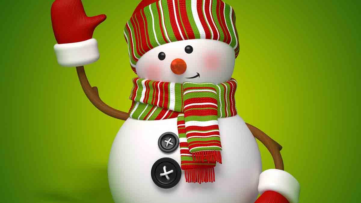 mi muñeco de nieve cuento corto navidad