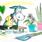 fabula el asno y el jardinero