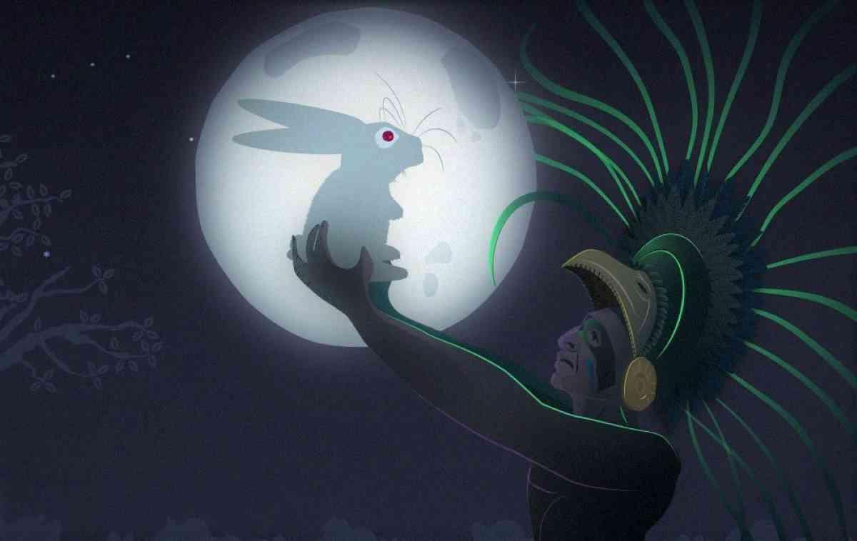 Leyenda conejo y la luna