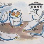 Fabula la lechuza y las palomas