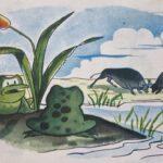 Fábula Esopo las ranas y los toros